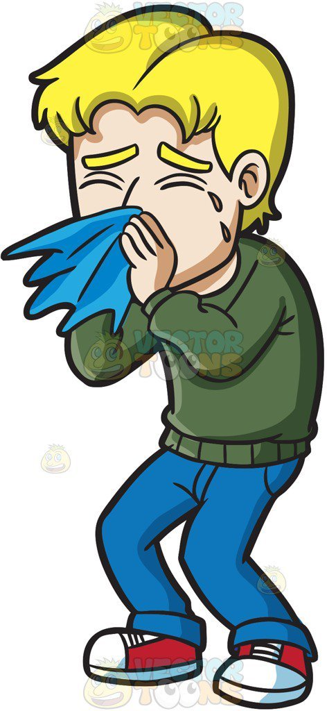 Feeling sick clipart image transparent library Blowing your nose clipart 3 » Clipart Portal image transparent library