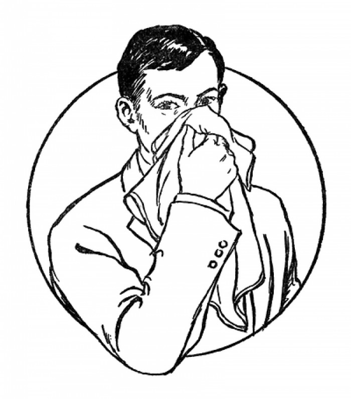Blow your nose clipart picture black and white library Blow Your Nose Hd Image Vector, Clipart, PSD - peoplepng.com picture black and white library