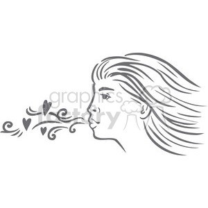 Blowing a kiss clipart jpg transparent stock blowing a kiss clipart. Royalty-free clipart # 386719 jpg transparent stock