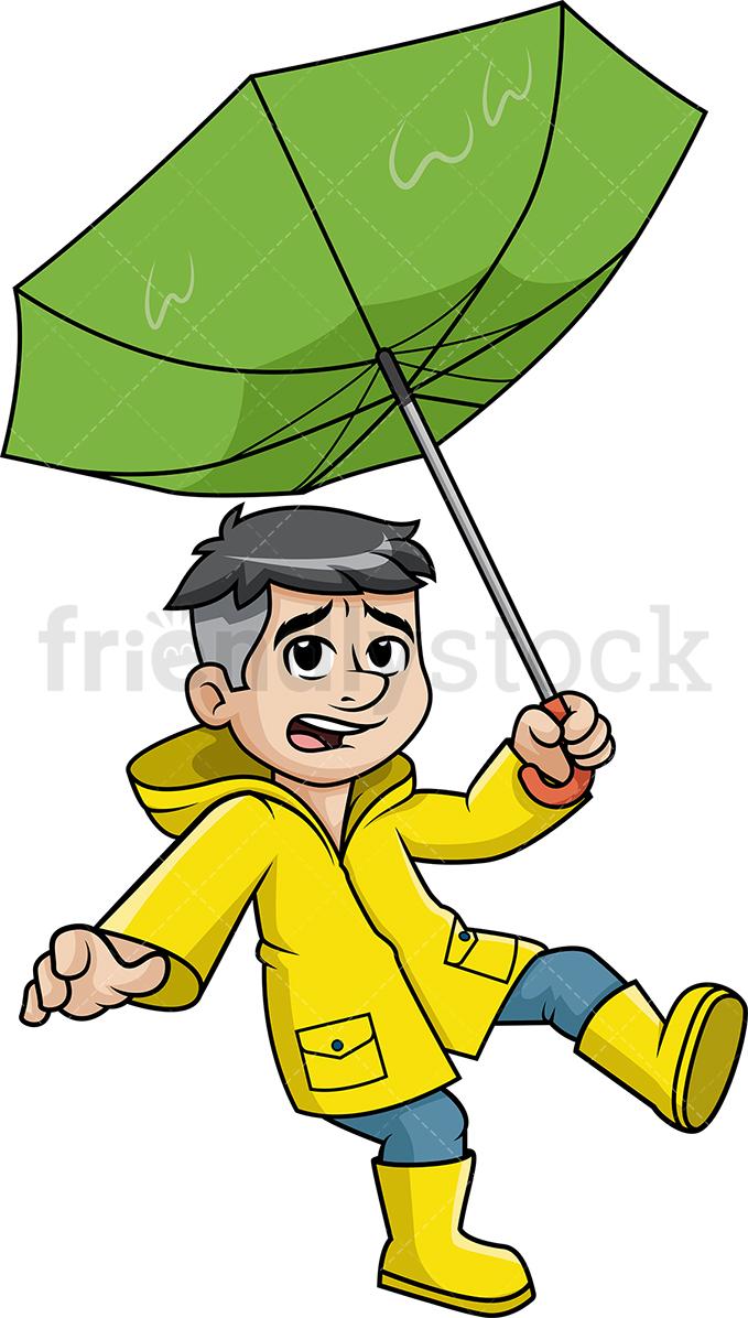 Blowing away clipart jpg stock Man Blown Away By The Wind Cartoon Clipart Vector - FriendlySt ... jpg stock
