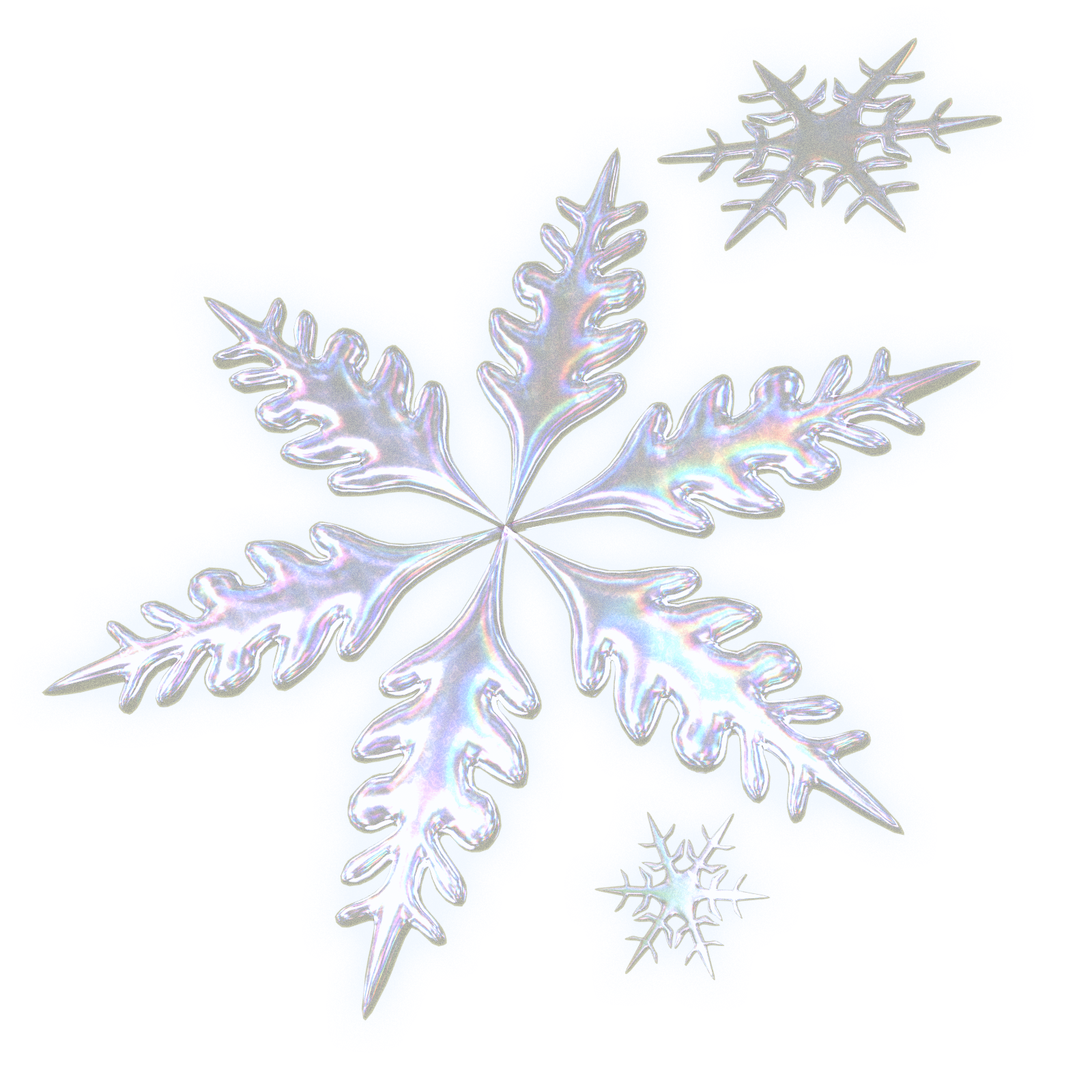 Blowing snowflake clipart banner freeuse library Snowfall ... banner freeuse library