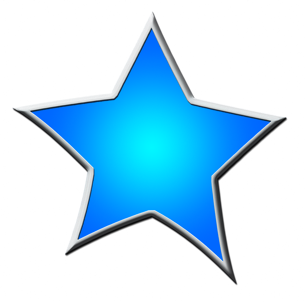 Star clipart blue banner black and white download Star Clipart banner black and white download