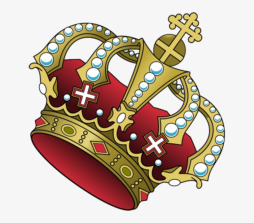 Blue and gold crown clipart png transparent library Crown Clipart Tilted - Royal Blue And Gold Crown Transparent PNG ... png transparent library