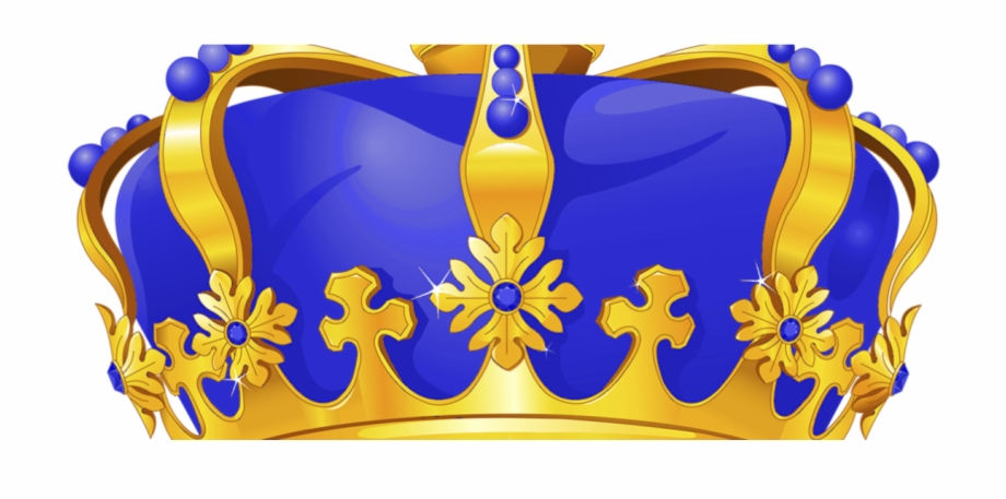 Blue and gold crown clipart clip art royalty free download Royal Blue And Gold Crown Png , Png Download - Royal Blue Crown Png ... clip art royalty free download