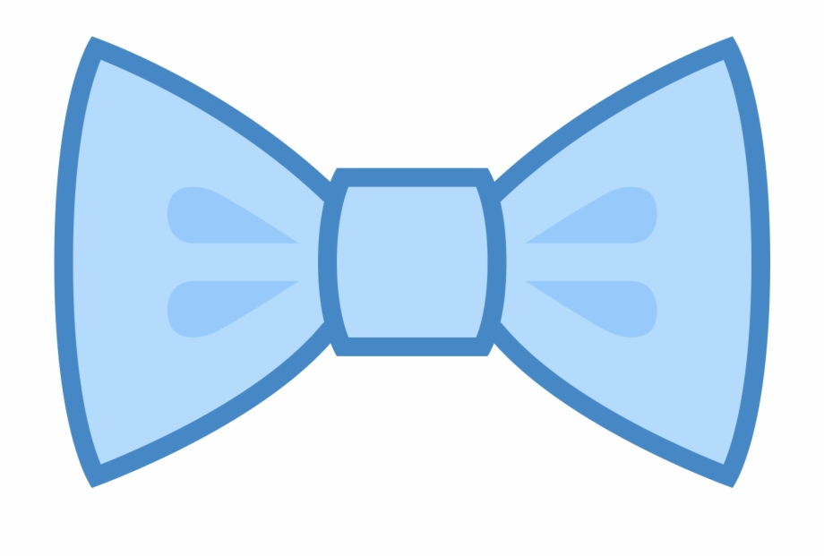 Blue and goldbear with bow tie clipart jpg black and white stock Filled Bow Tie Icon - Gravata Borboleta Azul Png, Transparent Png ... jpg black and white stock