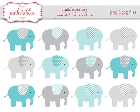 Blue and gray elephant clipart clip art royalty free stock 80+ Elephant Clipart Baby | ClipartLook clip art royalty free stock