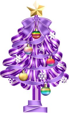 Blue and purple christmas contemporary tree clipart clip black and white library 116 Best Christmas Trees images in 2019 | Christmas, Christmas ... clip black and white library