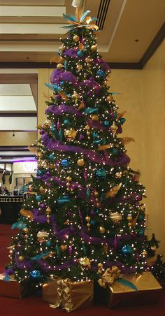 Blue and purple christmas contemporary tree clipart clip royalty free stock 168 Best Purple Christmas Tree & Decorations images in 2019 | Purple ... clip royalty free stock