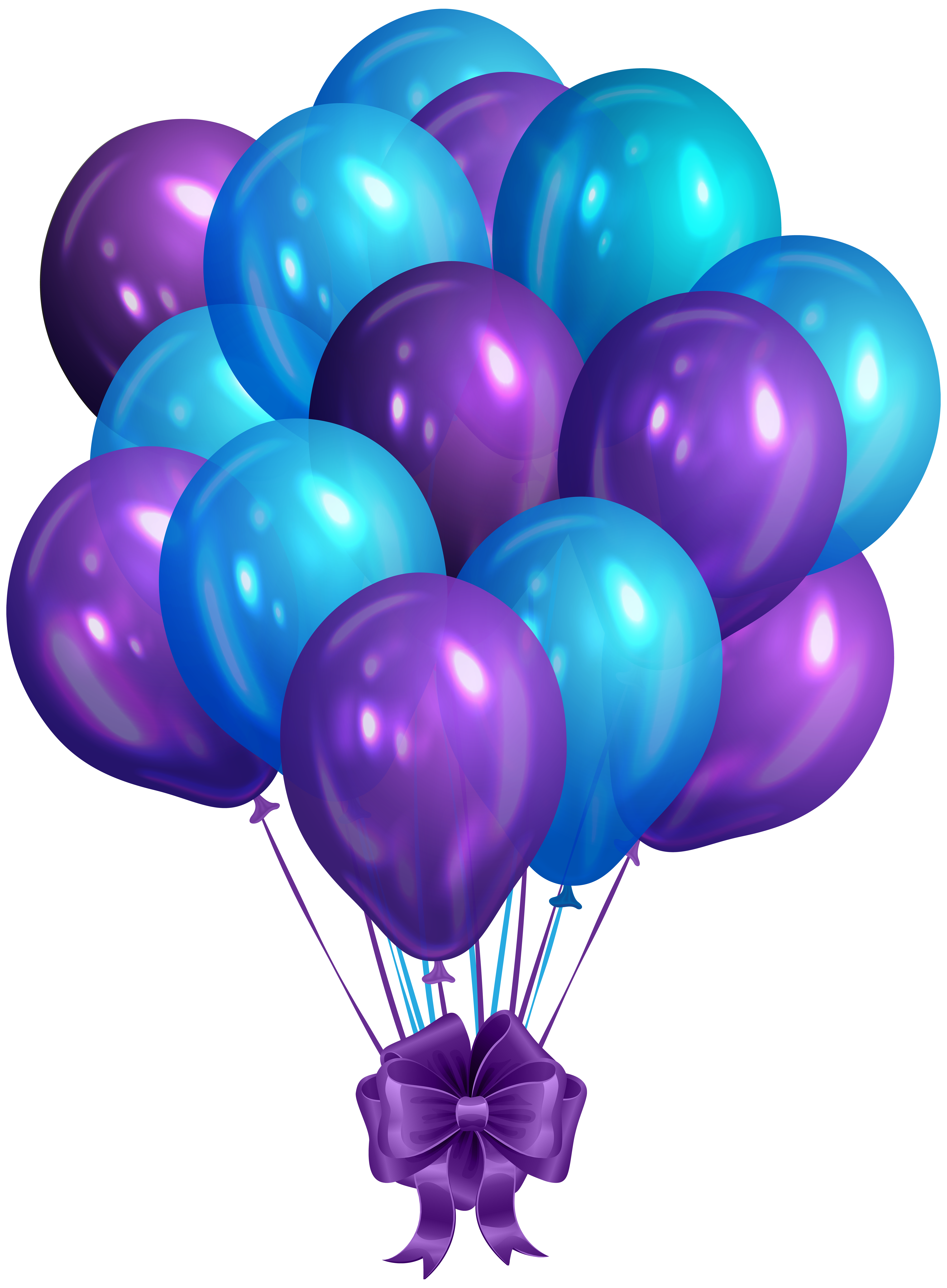 Blue and purple clipart svg royalty free stock Blue Purple Bunch of Balloons Clip Art PNG Image | Gallery ... svg royalty free stock