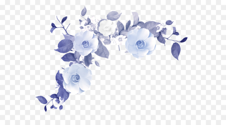 Blue and purple clipart vector free library Flowers Clipart Background png download - 658*485 - Free Transparent ... vector free library