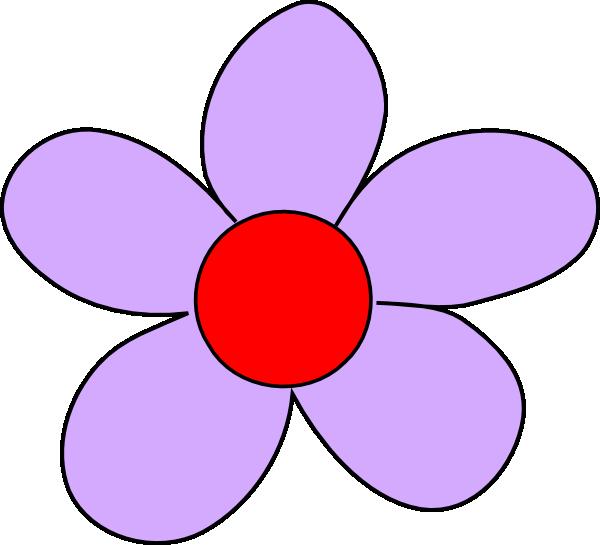 Lavendar flower clipart banner Light Purple Flower Clip Art at Clker.com - vector clip art online ... banner