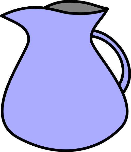 Blue and white pitcher png clipart vector banner freeuse Pitcher Clip Art at Clker.com - vector clip art online, royalty free ... banner freeuse