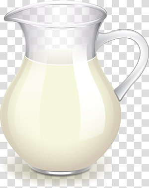 Blue and white pitcher png clipart vector svg library stock White pitcher illustration, Kefir Cow\\\'s milk Cream Pitcher, milk ... svg library stock