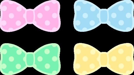 Blue and white polka dot hair bow clipart png royalty free stock Cute polka dot pastel bows free clip art - ClipartBarn png royalty free stock