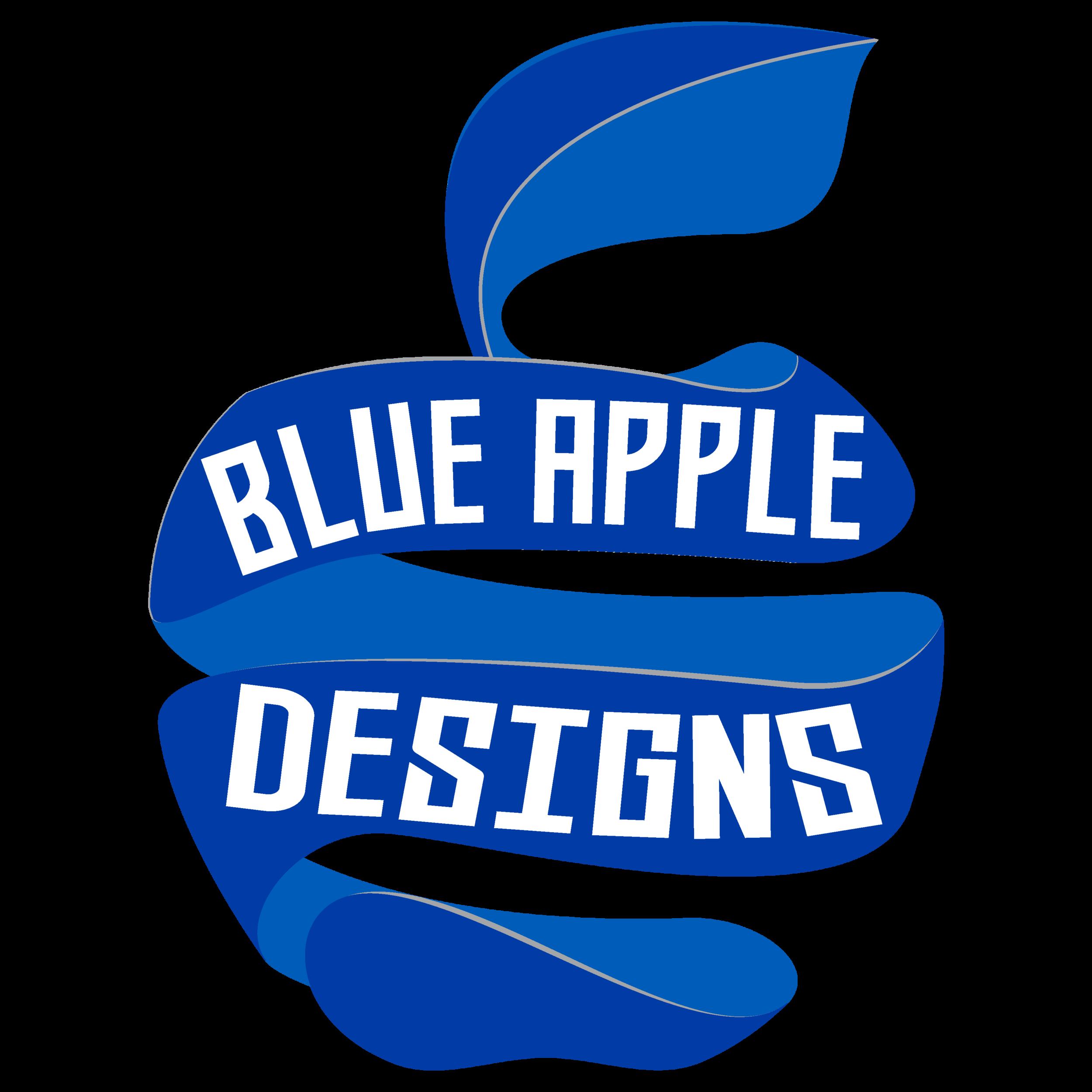 Design apple clipart clipart transparent library BLUE APPLE DESIGNS clipart transparent library