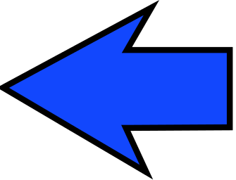 Blue arrow left black and white library Arrow sharp blue left - /signs_symbol/arrows/arrow_large_sharp ... black and white library
