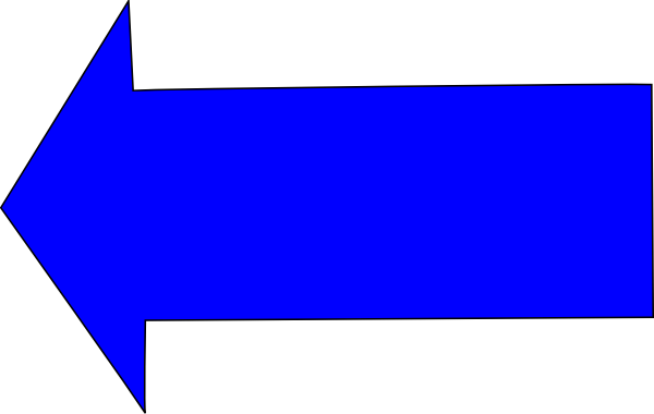 Blue arrow left jpg free download Blue Left Arrow Clip Art at Clker.com - vector clip art online ... jpg free download