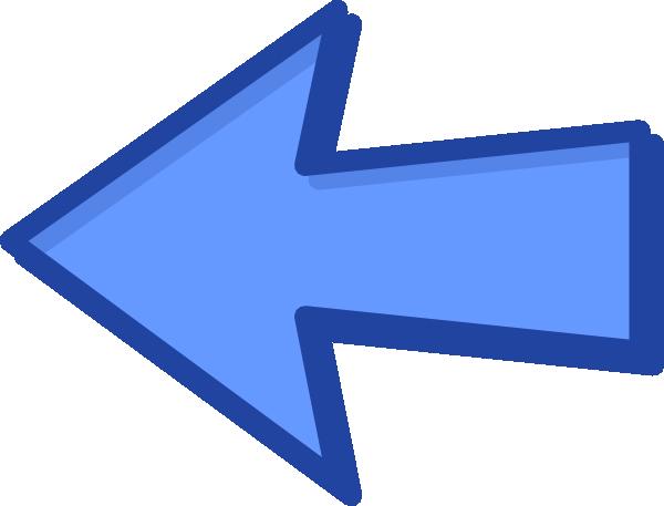 Blue arrow left svg royalty free download Blue arrow left - ClipartFest svg royalty free download