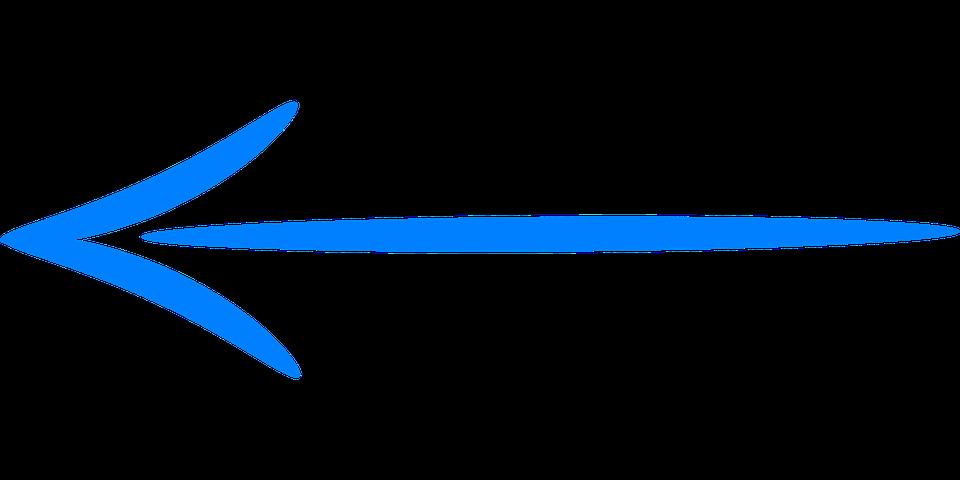 Blue arrow left svg transparent download Blue, Arrow - Free images on Pixabay svg transparent download