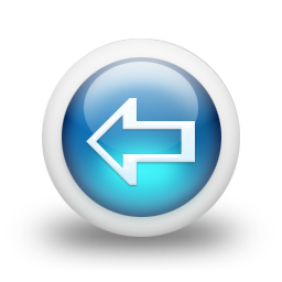 Blue arrow left image download File:Glossy 3d blue arrow left.png - Wikimedia Commons image download
