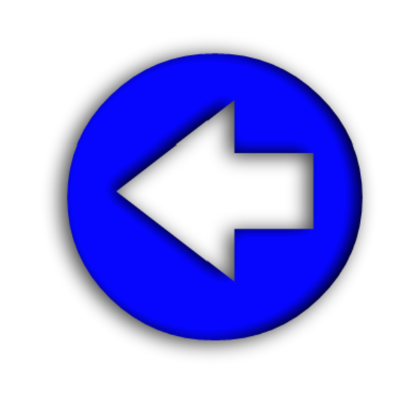 Blue arrow left clip art transparent library Blue Arrow Left   Free Images at Clker.com - vector clip art ... clip art transparent library