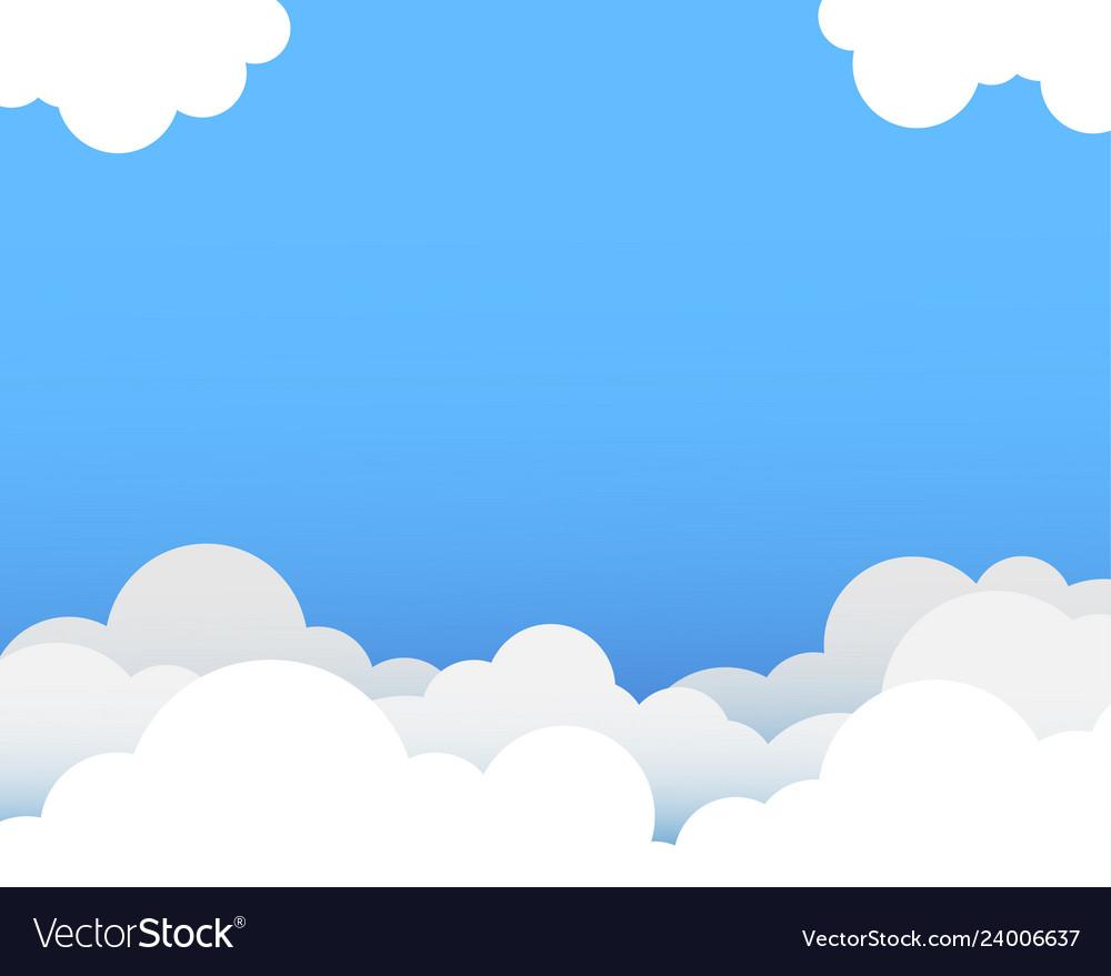 Clipart blue sky