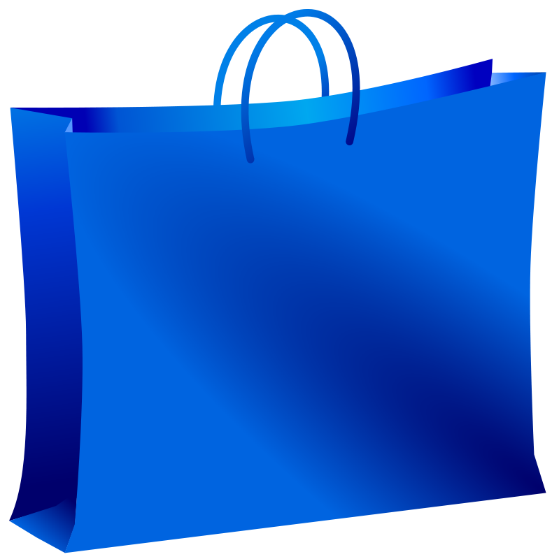 Blue bag clipart svg royalty free Free Clipart: Blue bag | Ehecatl1138 svg royalty free