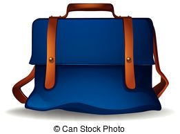 Blue bag clipart vector library stock Blue bag clipart » Clipart Station vector library stock
