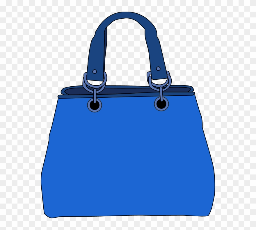 Blue bag clipart svg transparent library Tote - Blue Bag Clip Art - Png Download (#507202) - PinClipart svg transparent library