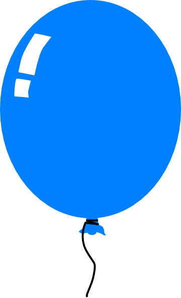 Blue balloon clipart free jpg transparent Blue balloons clipart clipart images gallery for free download ... jpg transparent