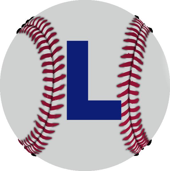 L Baseball Clip Art at Clker.com - vector clip art online, royalty ... svg transparent download