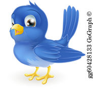 Bluebird Clip Art - Royalty Free - GoGraph freeuse library