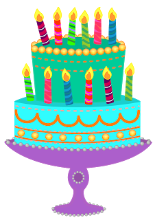 Blue birthday cake clip art picture stock Green birthday cake clipart - ClipartFest picture stock