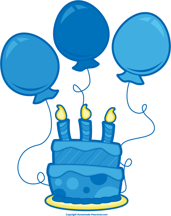Blue birthday cake clip art clipart free library Blue Birthday Cake Clipart - Clipart Kid clipart free library