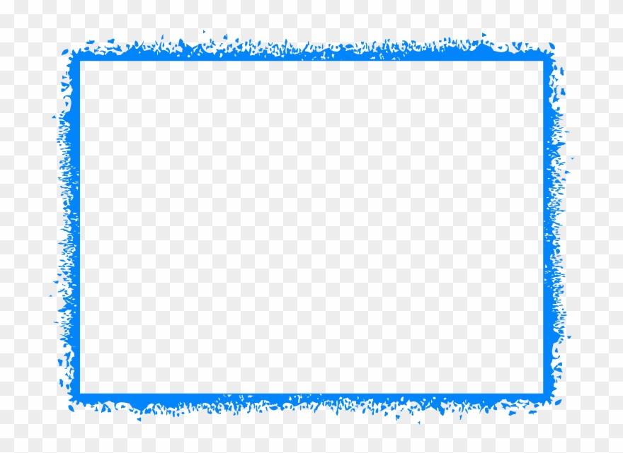 Blue border clipart graphic download Basketball Border For Microsoft Word - Blue Border Frame Png Clipart ... graphic download
