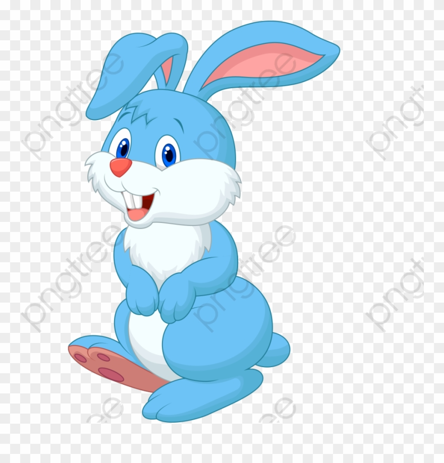 Blue bunny logo clipart jpg freeuse download Rabbit Clipart Blue - Blue Bunny Clip Art - Png Download (#4894579 ... jpg freeuse download