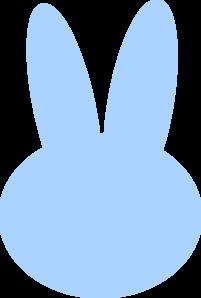 Blue bunny logo clipart freeuse download Blue Bunny Head Clip Art at Clker.com - vector clip art online ... freeuse download