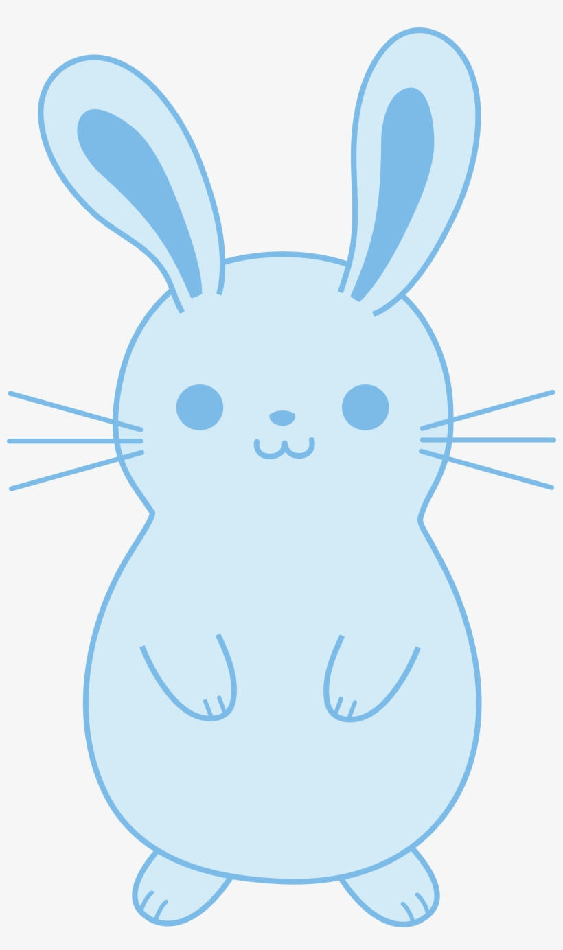 Blue bunny logo clipart image library Bunny Clipart Blue Bunny Pencil And In Color Bunny - Bunny Rabbit ... image library