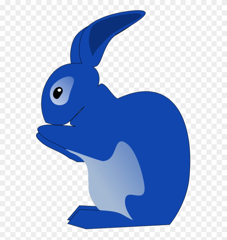 Blue bunny logo clipart picture free download Rabbit Clipart Clip Art - Clip Art Blue Rabbit - Png Download ... picture free download