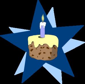 Clip art at clker. Blue cake clipart