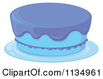 Blue cake clipart jpg free library Royalty-Free (RF) Blue Cake Clipart, Illustrations, Vector Graphics #1 jpg free library
