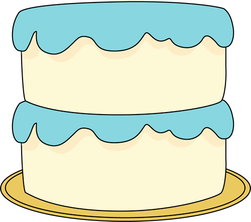 Clip art images white. Blue cake clipart