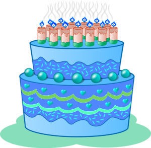 Blue cake clipart image royalty free stock Blue birthday cake clipart - ClipartFest image royalty free stock