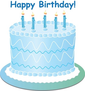 Blue cake clipart graphic royalty free Blue birthday cake clipart - ClipartFest graphic royalty free