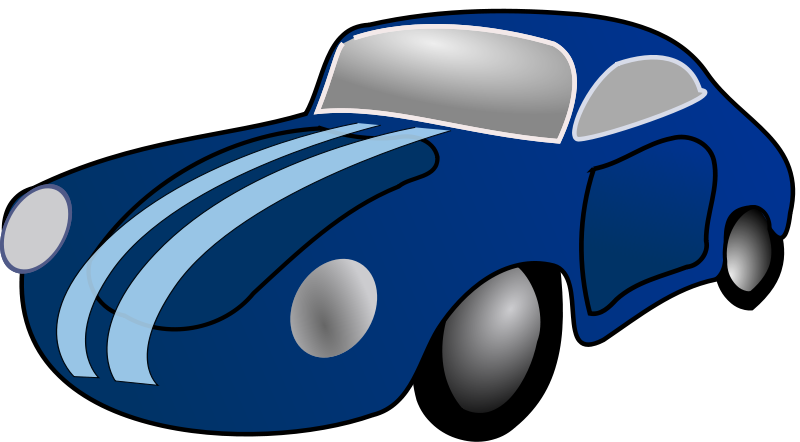 28+ Collection of Blue Sports Car Clipart | High quality, free ... clipart royalty free stock