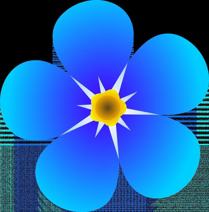 Blue cat clipart clip free Free Clipart Blue Flowers | esfiro.cat clip free