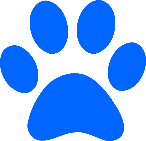 Blue cat clipart png transparent download Paw Print Clipart at GetDrawings.com | Free for personal use Paw ... png transparent download