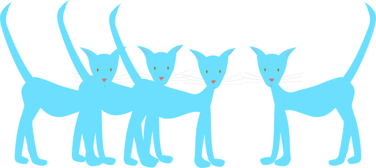 Cat paw clipart navy blue transparent stock Free Cat Images: free digital cat doodle clip art - freebie transparent stock