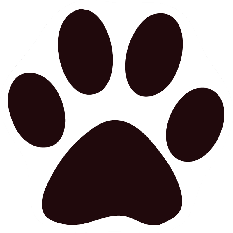 Black Cat Clipart Paw image library download