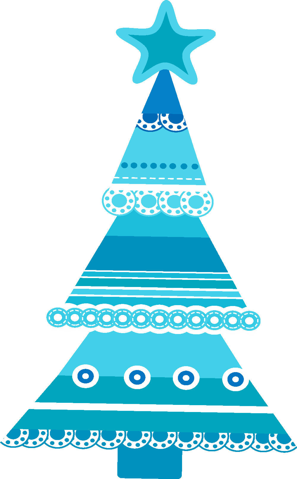 Christmas clipart blue svg free BLUE CHRISTMAS TREE | CLIP ART - CHRISTMAS 2 - CLIPART | Pinterest ... svg free